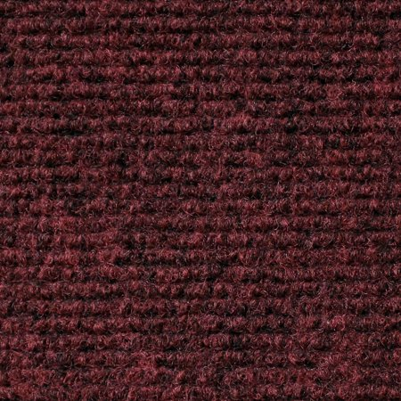 Indoor/Outdoor Carpet with Rubber Marine Backing - Burgundy Red 6\' x ...