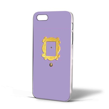 outlet store a1d73 11965 Ganma Monica's Peephole Door Friends Tv Show Case For iPhone Case (Case For  iPhone 6s White)