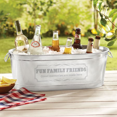 Insulated Beverage Tub (Personalized Create Your Own Beverage Tub or Tub with Stand)