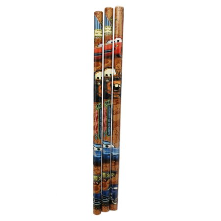 Disney Pixar's Cars Mater and Lightning McQueen Wooden Pencils (Lightning Mcqueen And Mater Best Friends)
