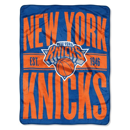 "NBA New York Knicks ""Clear Out"" 46""x 60"" Micro Raschel (New York Knicks Window)"