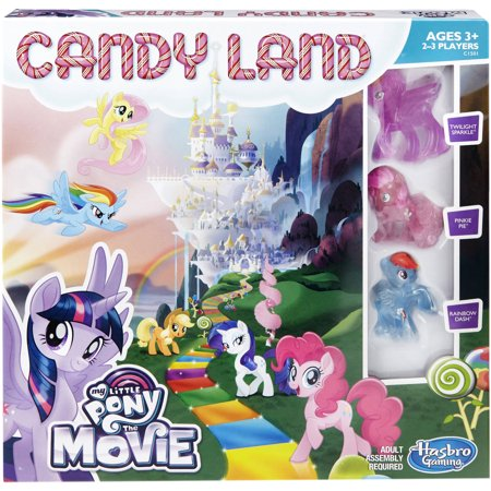 Candy Land Game: My Little Pony the Movie Edition (Candyland The Kingdom Of Sweets Board Game)