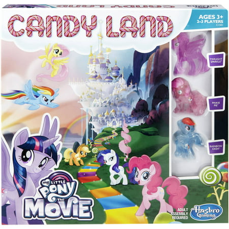 Candy Land Game: My Little Pony the Movie Edition - Edition Dvd Game
