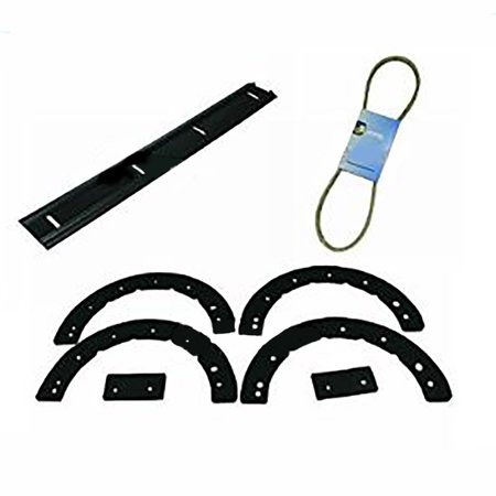 Aftermarket Replacement Paddle Set with Scraper Bar and Belt Yardman Two Cycle Snow Throwers
