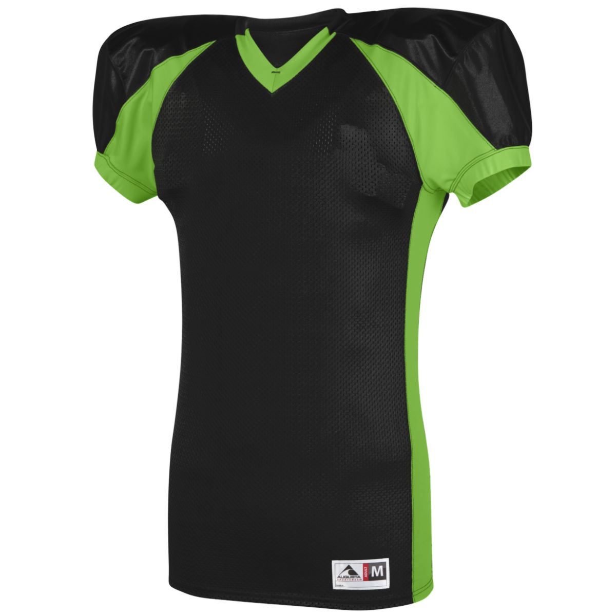 Augusta Snap Jersey Blk/Lime 3Xl - image 1 of 1