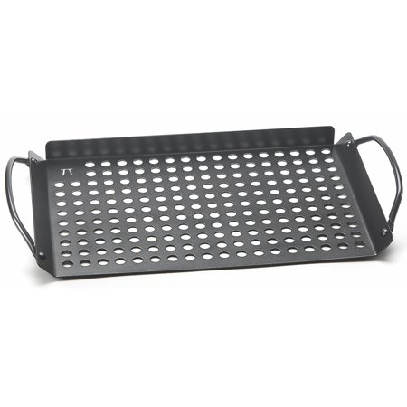 Fox Run Outset Nonstick Grill Grid Rack With Handles - BBQ Barbecue Outdoor Tool