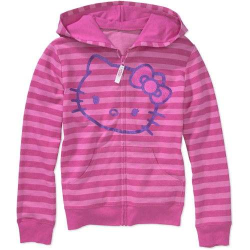 Hello Kitty - Girls' Hooded Sweatshirt