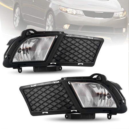 fog lights for kia forte sedan 4 door 2010 2011 2012 oe. Black Bedroom Furniture Sets. Home Design Ideas