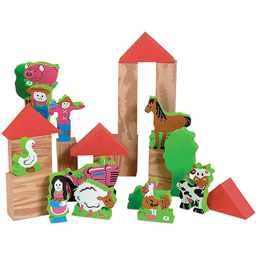 Edushape My Soft World Farm, 29-Piece by Edushape