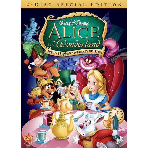Alice In Wonderland: Special Un-Anniversary Edition (Full Frame, ANNIVERSARY)