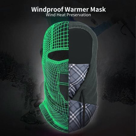 Windproof Warmer Mask Face Cycling Windshield Motorcycling Skiing Snowboarding - image 2 de 7