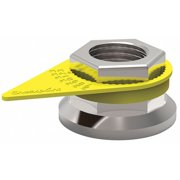 CHECKPOINT CPY40MM Loose Wheel Nut Indicator,40mm,Plastic