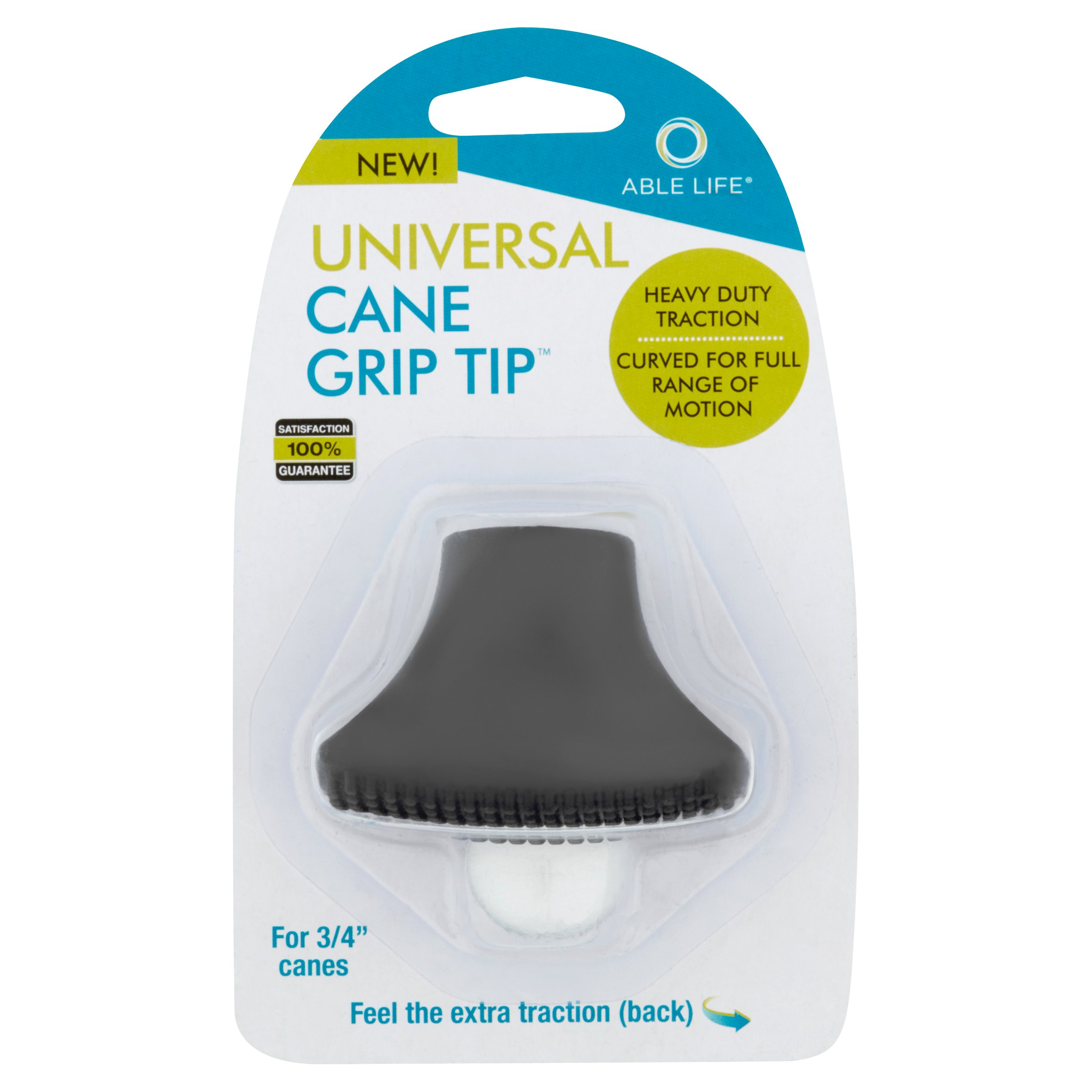 Able Life Universal Cane Grip Tip