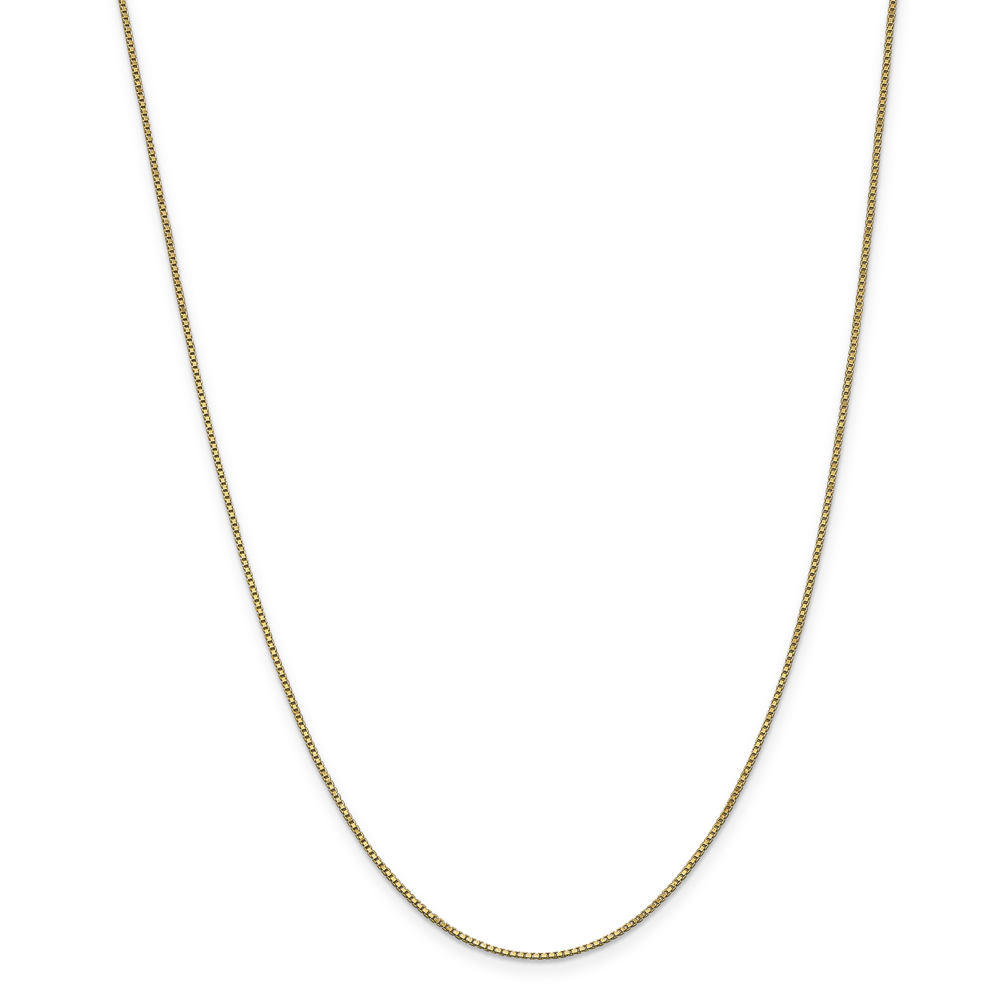 ICE CARATS 14kt Yellow Gold 1 Mm Link Box Lobster Chain Necklace 16 Inch Pendant Charm Fine Jewelry Ideal Gifts For... by IceCarats Designer Jewelry Gift USA