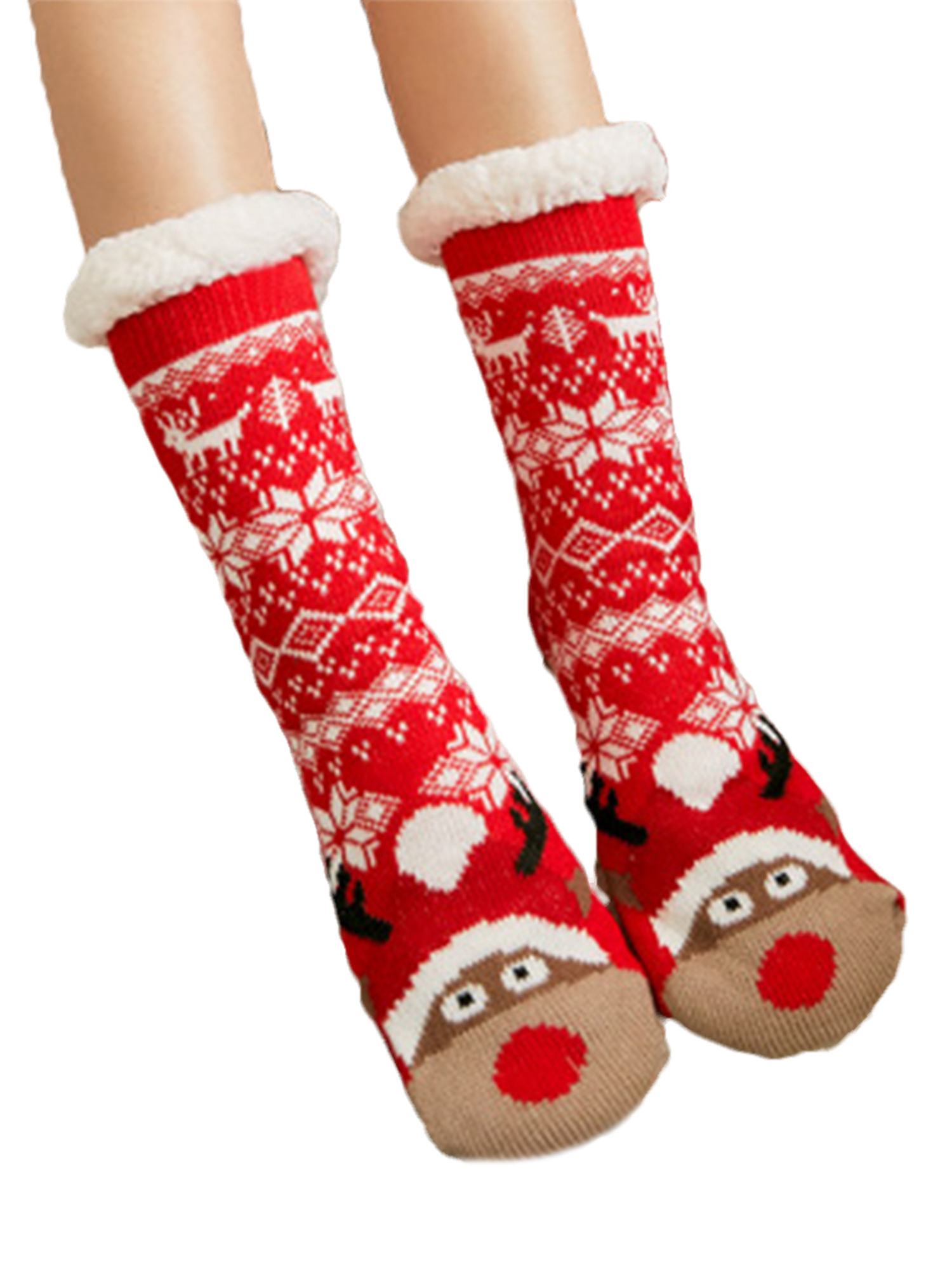 Extra-warm Fleece Indoor Socks Floor Socks One Size