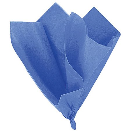 Royal Blue Tissue Paper, 10 Sheets - Navy Blue Tissue Paper