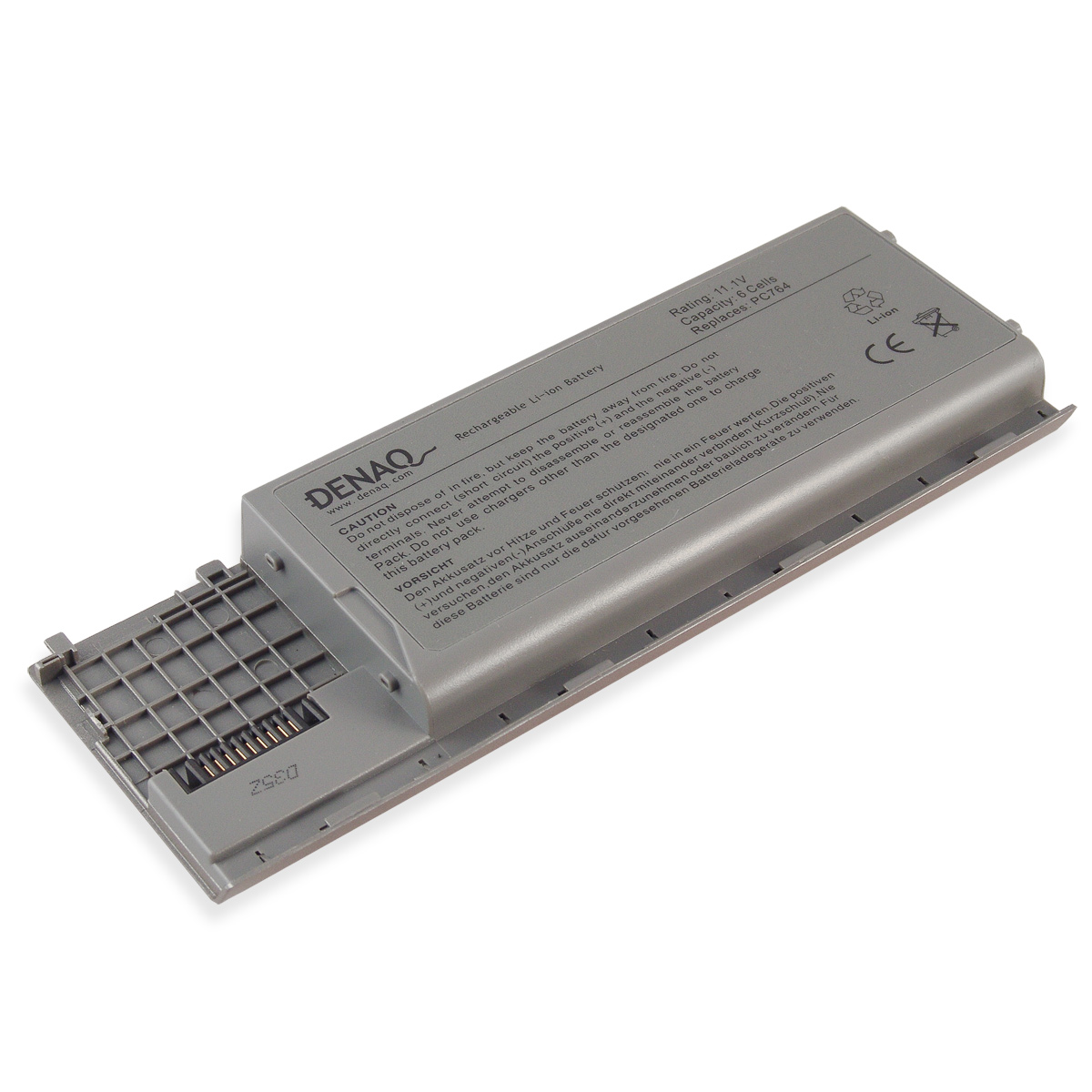 6-Cell 56Whr Li-Ion Laptop Battery for DELL Latitude D620, D630, D630 XFR, D630N, D631; Dell Precision M2300