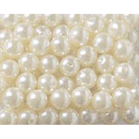 Pearls Round White 6Mm 750Pc
