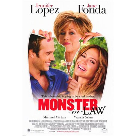 Posterazzi MOV259555 Monster-In-Law Movie Poster - 11 x 17 in. - image 1 of 1