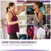 Poise Incontinence Pads for Women, Light Absorbency, Long, 24 Count
