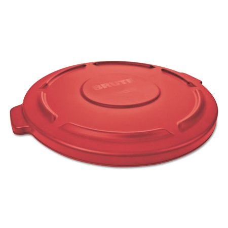 Gallon Brute Round Container Lid - Flat Top Lid For 20-Gallon Round Brute Containers, 19 7/8