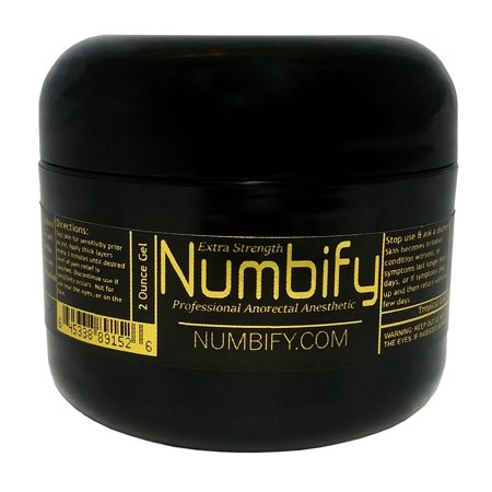 Pain Relief by Numb-ify: 5% Lidocaine Gel - Extra Strength Anesthetic - Numb-ify's Strongest & Best Pain Relief Gel (2