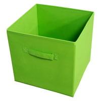 Achim Collapsible Storage Bins, Pack 4, Green