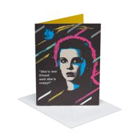American Greetings Stranger Things Eleven Birthday Card with Foil