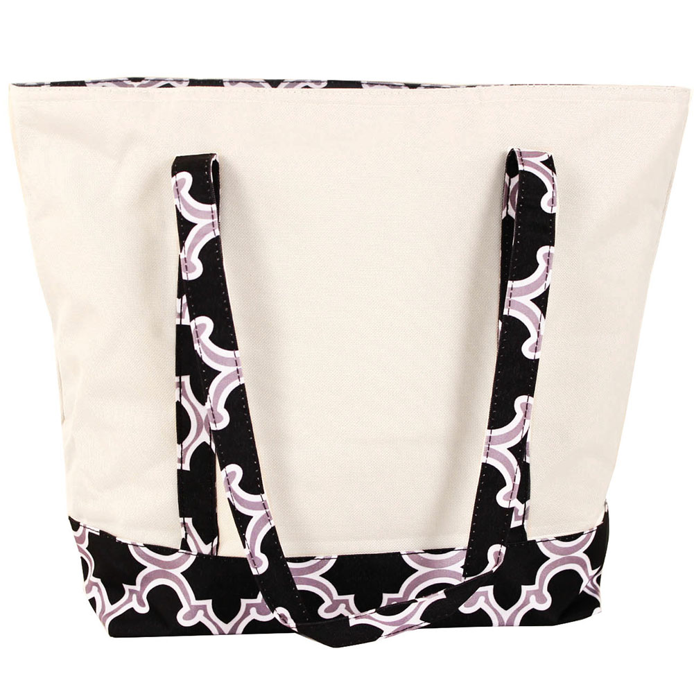 SLM Large Thermal Insulated Printed Trim Lunch Bag