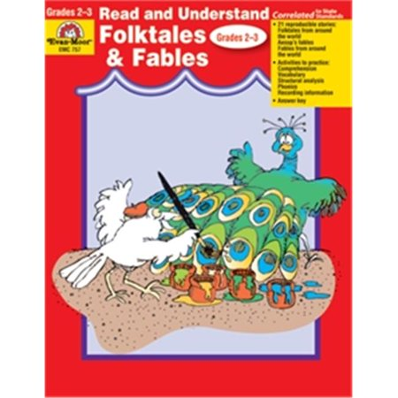 Evan-Moor Educational Publishers 757 Read & Understand Folktales