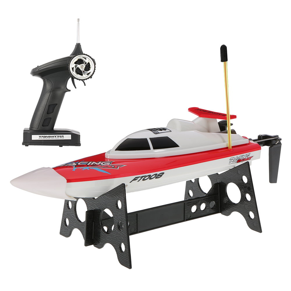 Original Feilun FT008 27MHZ 2CH 14km h High Speed Radio Control RC Boat by
