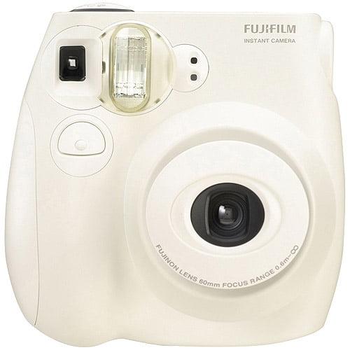 Fujifilm Instax MINI 7s Instant Film Camera, White