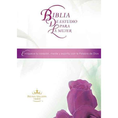 Biblia de estudio para la mujer   Study Bible for Women: Version Reina-Valeria 1960 by
