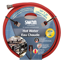 5/8X25FT HOT WATER RUBBER HOSE