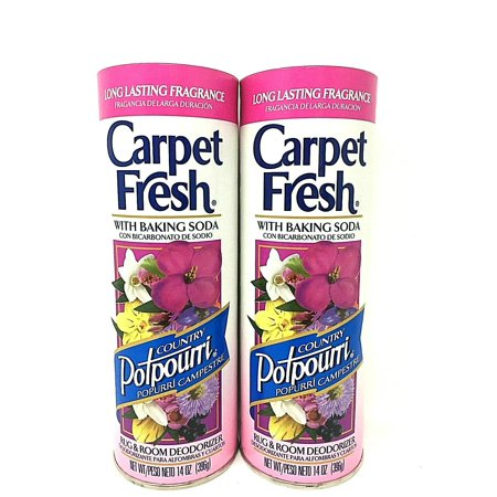 Carpet Fresh White Baking Soda Rug Deodorizer 14 oz Pack of 2 ()