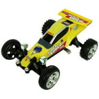 Microgear EC10253-YL Microgear Radio Controller RC Mini Buggy Yellow 1:52 Scale