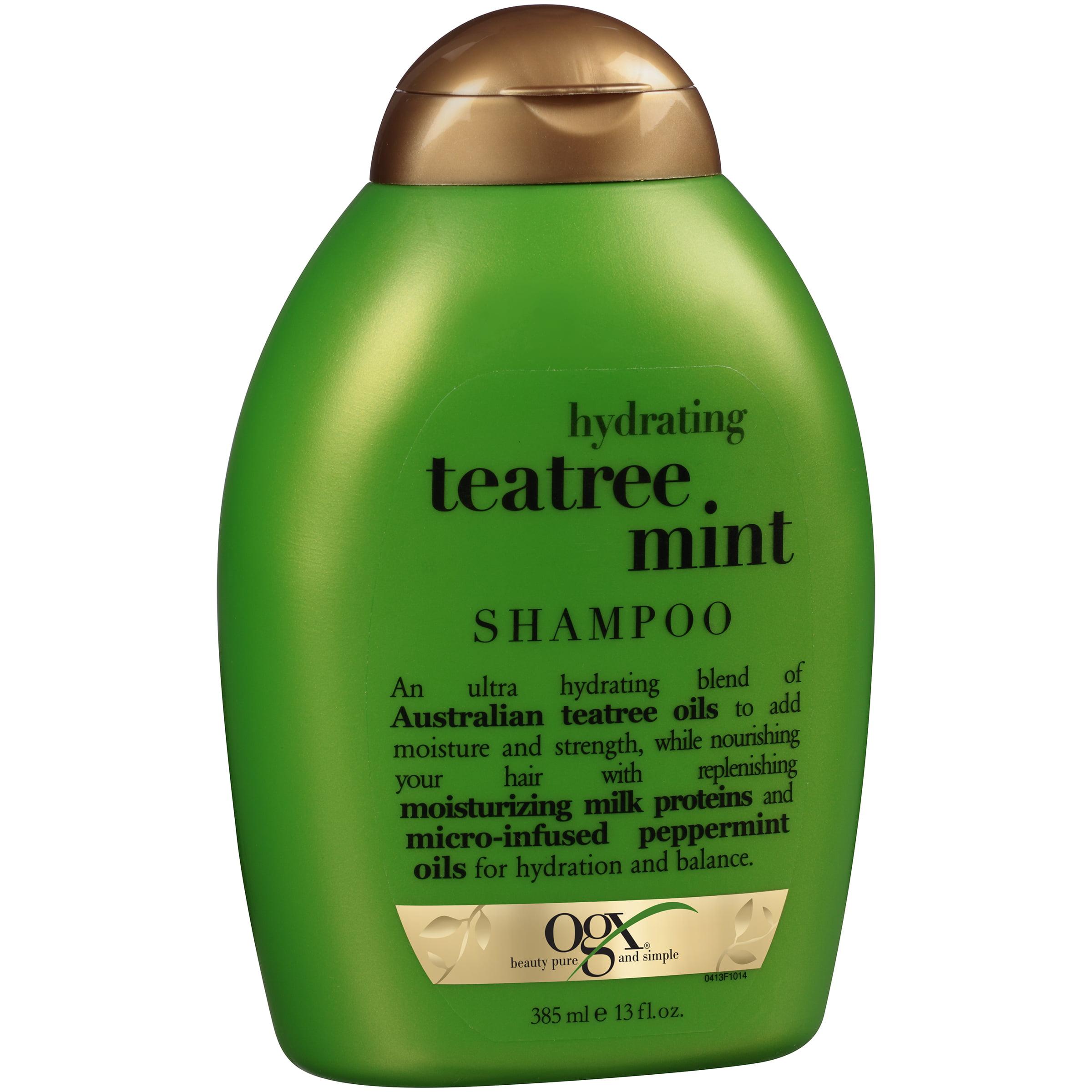 OGX® Hydrating Teatree Mint Shampoo 13 fl. oz. Squeeze Bottle
