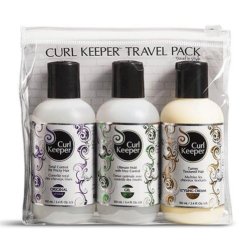 Torch Beauty Treatments - Curly Hair Solutions Curl Keeper Travel Pack - 10.14oz