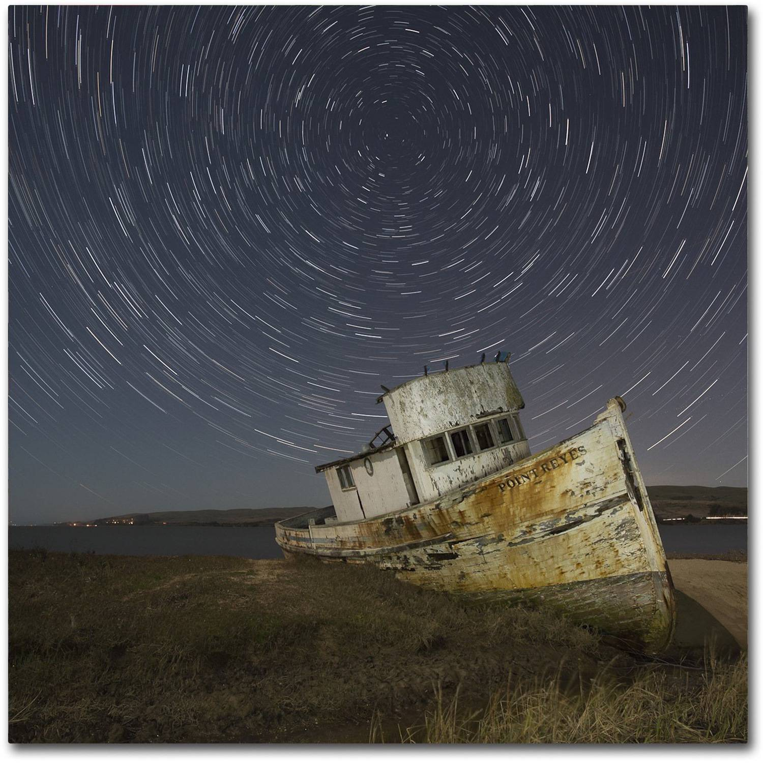 "Trademark Fine Art ""Point Reyes I"" Canvas Art by Moises Levy"