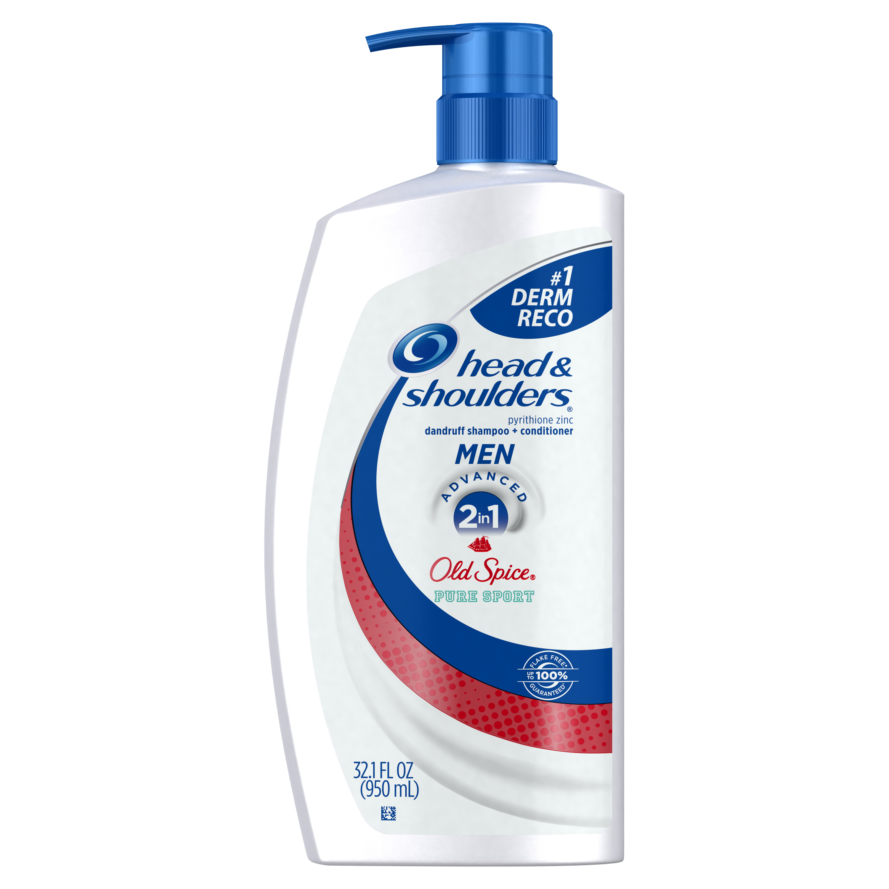 Head and Shoulders Old Spice Pure Sport 2-in-1 Anti-Dandruff Shampoo + Conditioner 32.1 fl oz