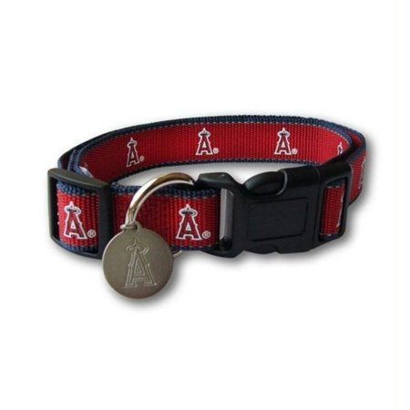Los Angeles Angels Reflective Dog Collar - Small