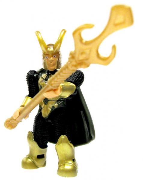 Mega Bloks Marvel Series 2 Loki Minifigure by
