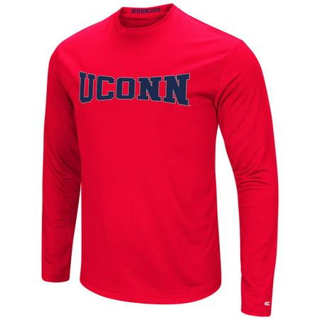 UCONN Connecticut Huskies T-Shirt Performance Long Sleeve Shirt