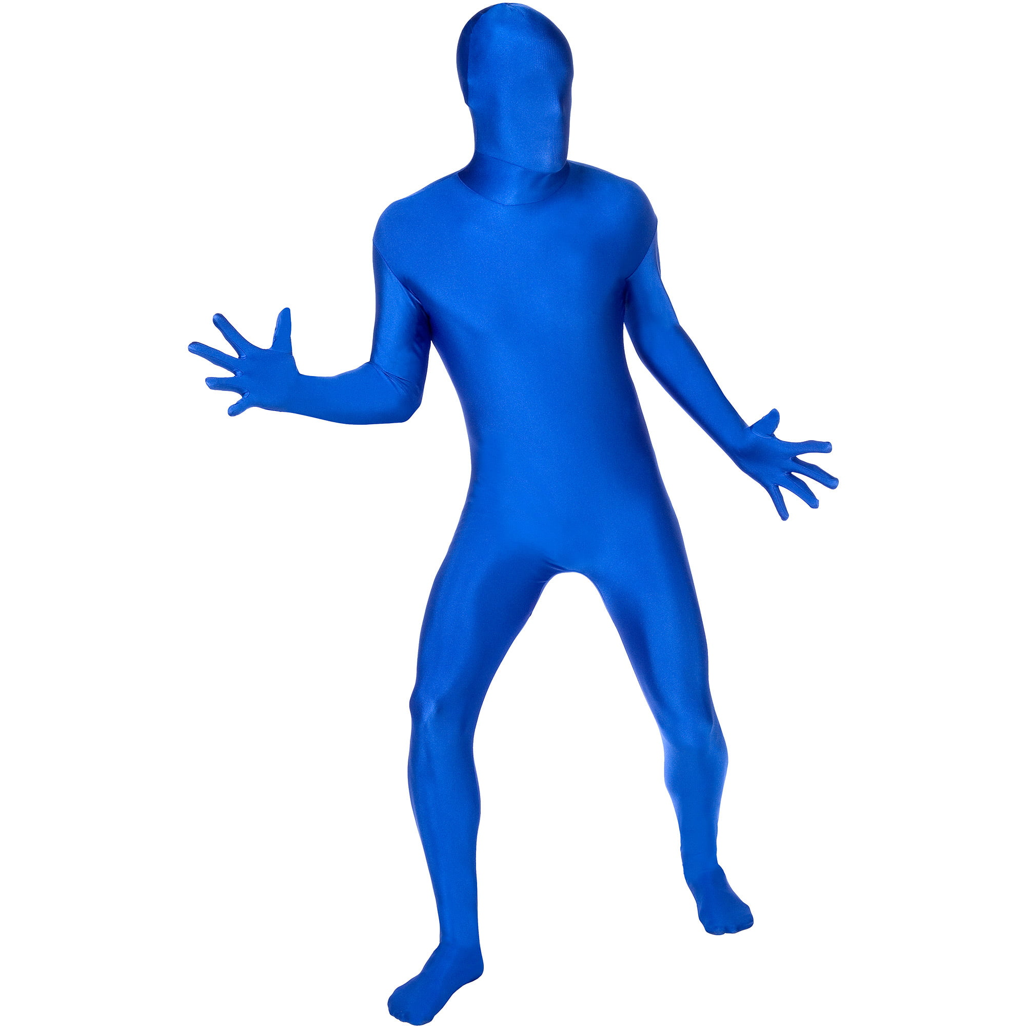 Blue Skin Suit Adult Halloween Costume - Walmart.com