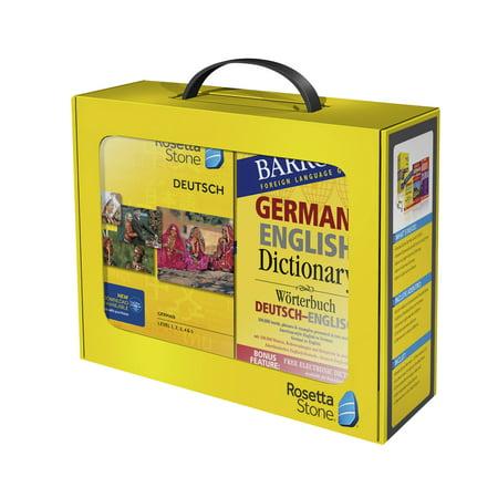 Rosetta Stone Barrons Bundle   German Levels 1 5 V4