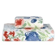 Better Homes & Gardens Watercolor Floral Bath & Hand Towel Collection
