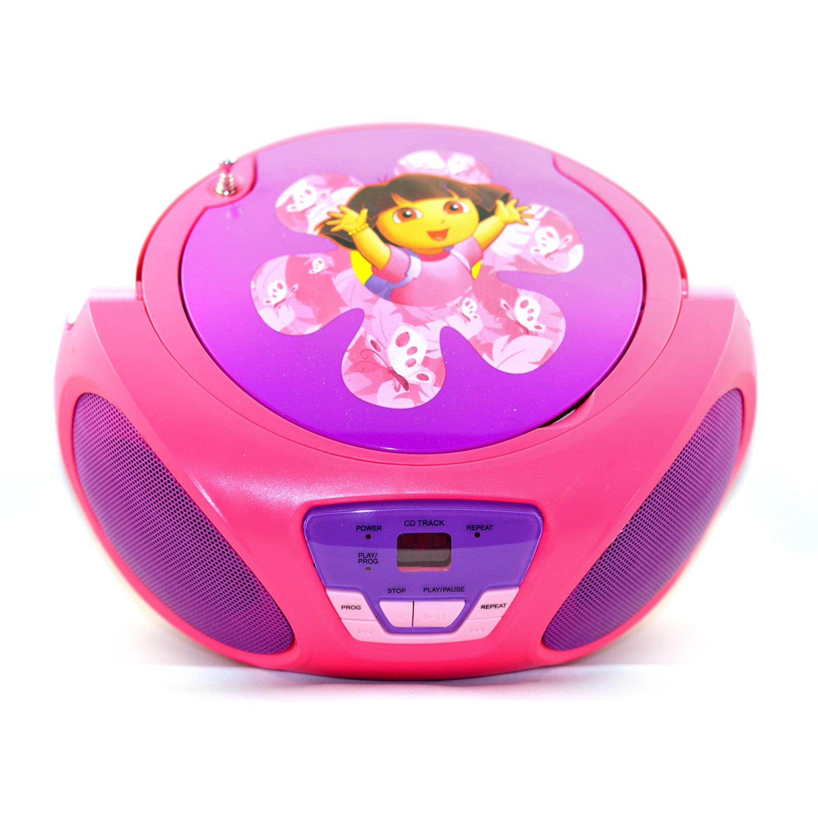 Dora the Explorer CD Boombox by Dora The Explorer