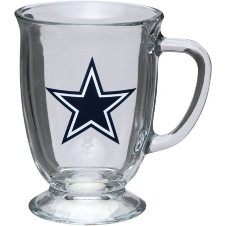 Dallas Cowboys 16oz. Kona Glass Mug - No Size - Cowboy Boot Glass Mug