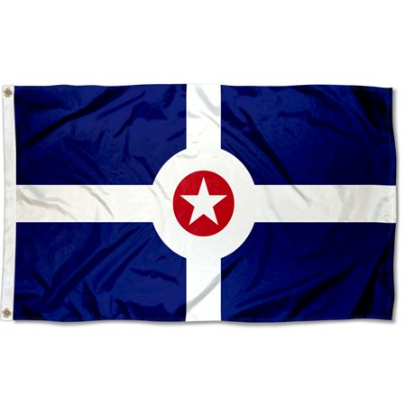 City of Indianapolis Flag - Party City Flags