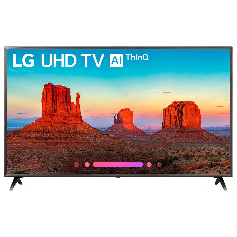 Refurbished LG 4K 70 in. HDR Smart LED UHD TV w/ AI ThinQ